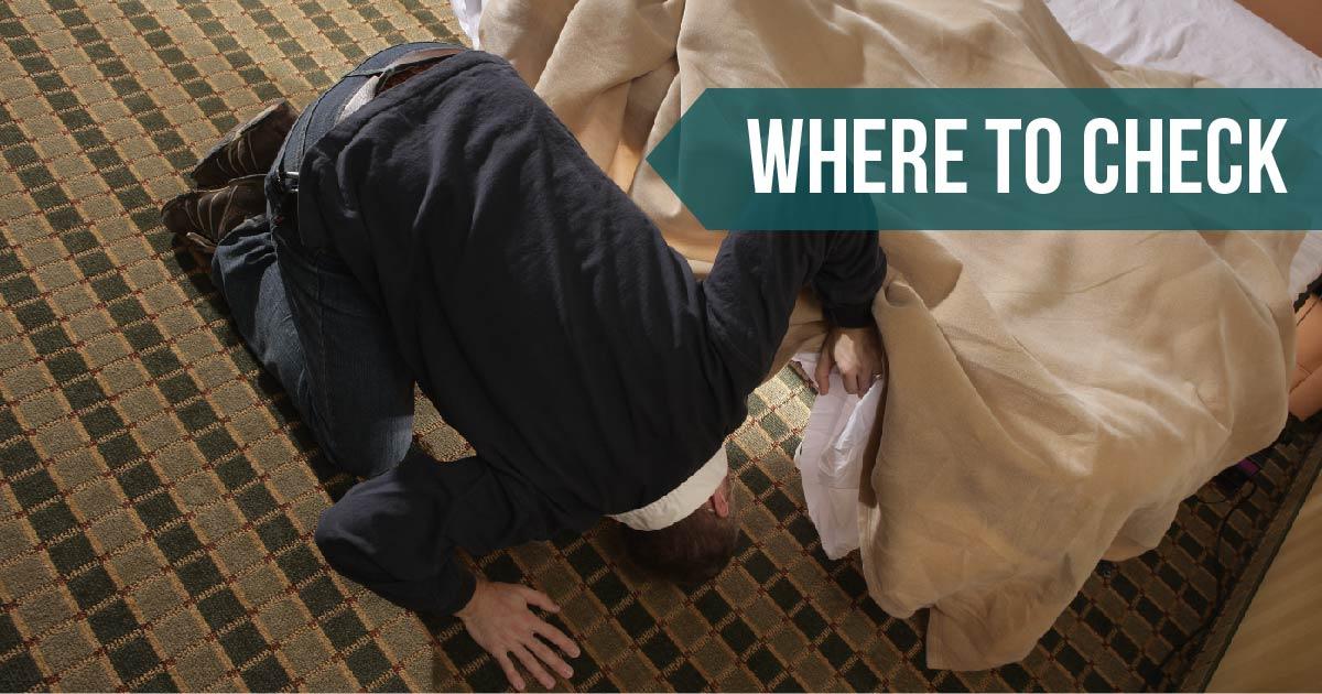 Where to check